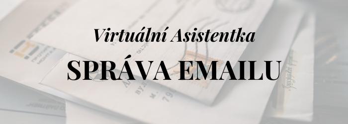 Správa emailu